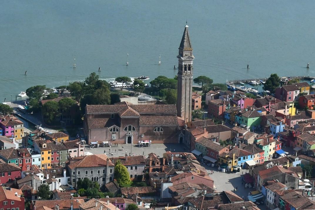 Església de Sant Martí de Burano de Venècia