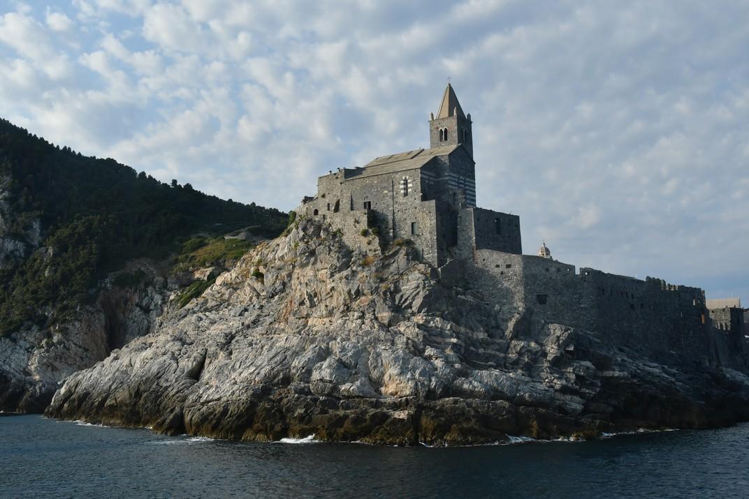 Església de Sant Pere a la punta de la península de Portovenere - Riomaggiore