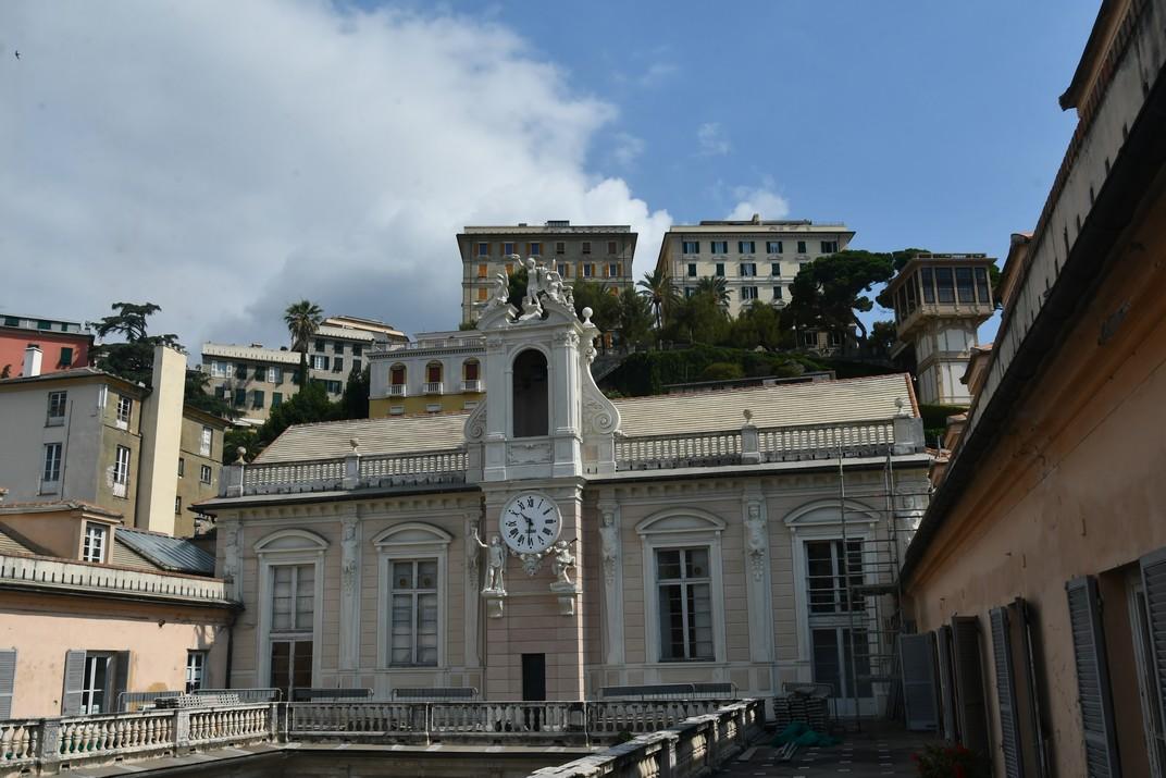Esplanada del Castelleto des del Palau Tursi de Gènova
