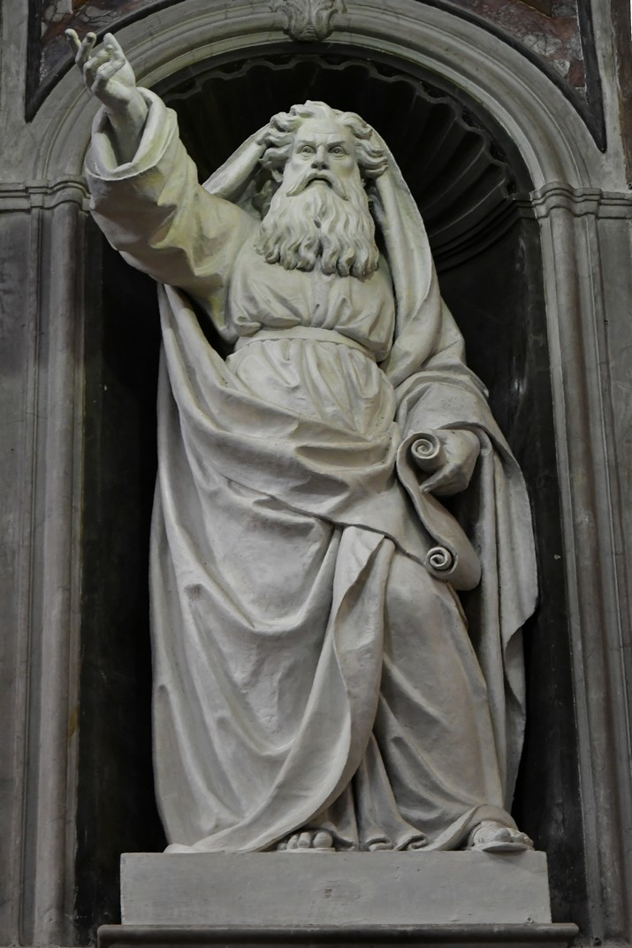 Estàtua de Ezequiel del Santuari de Nostra Senyora de la Costa de Sanremo