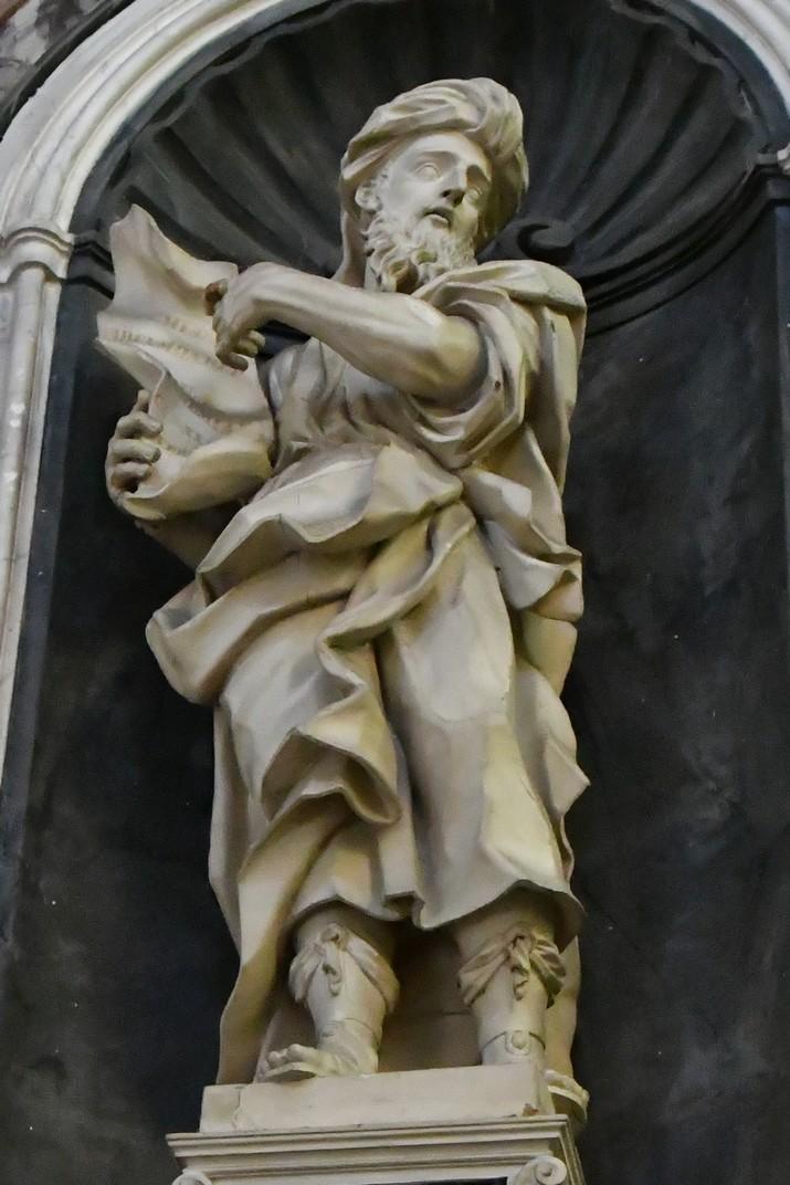 Estàtua de Jeremies del Santuari de Nostra Senyora de la Costa de Sanremo