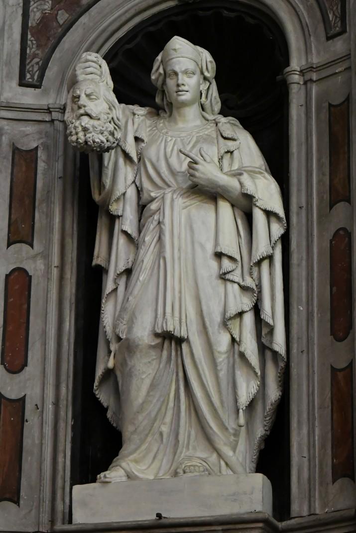 Estàtua de Judith del Santuari de Nostra Senyora de la Costa de Sanremo
