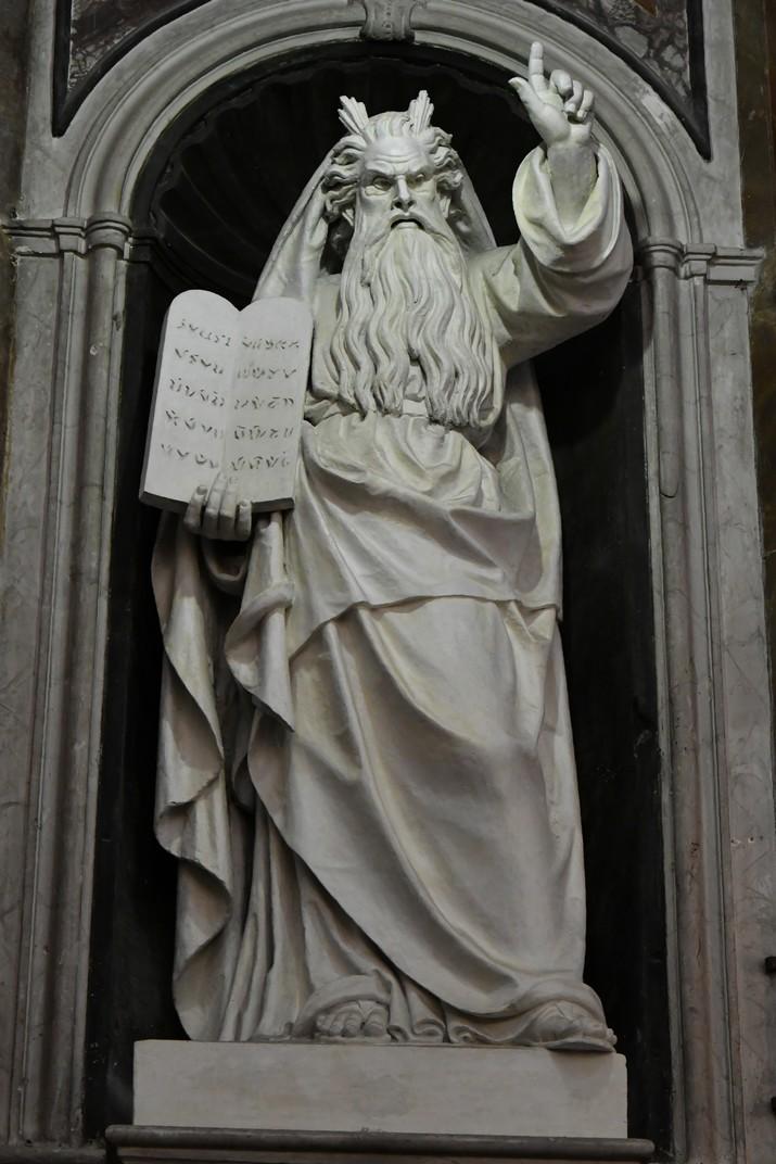 Estàtua de Moisès del Santuari de Nostra Senyora de la Costa de Sanremo