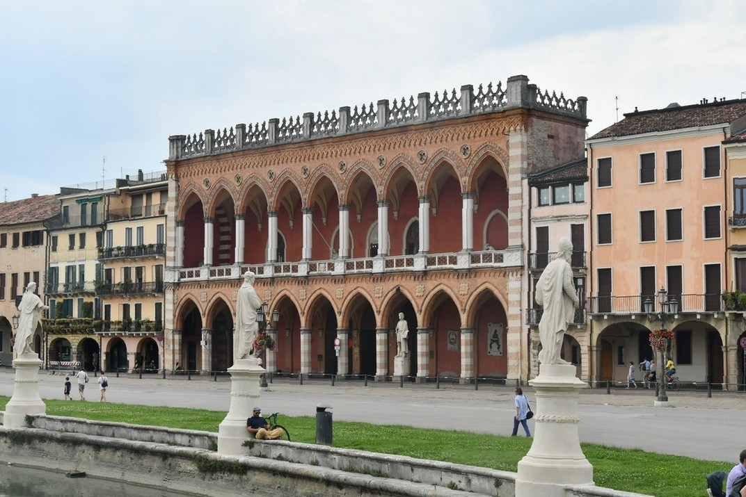 Estàtues del canal del Prato della Valle de Pàdua