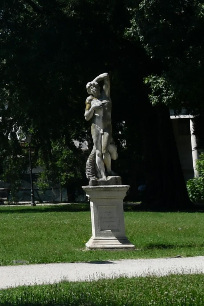 Estàtues dels jardins Salvi de Vicenza