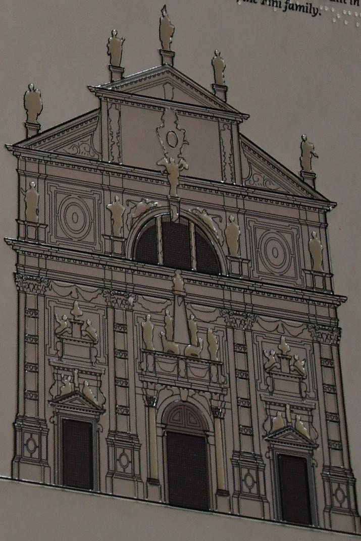 Façana de l'església de Sant Moisès de Venècia
