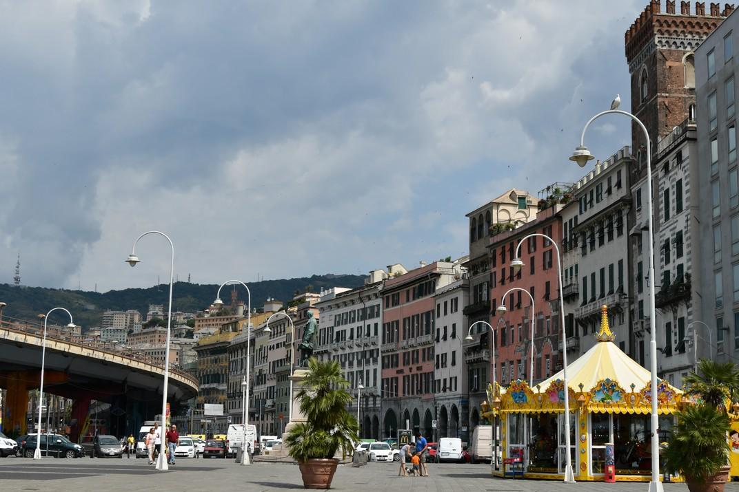 Façana del Port Antic de Gènova