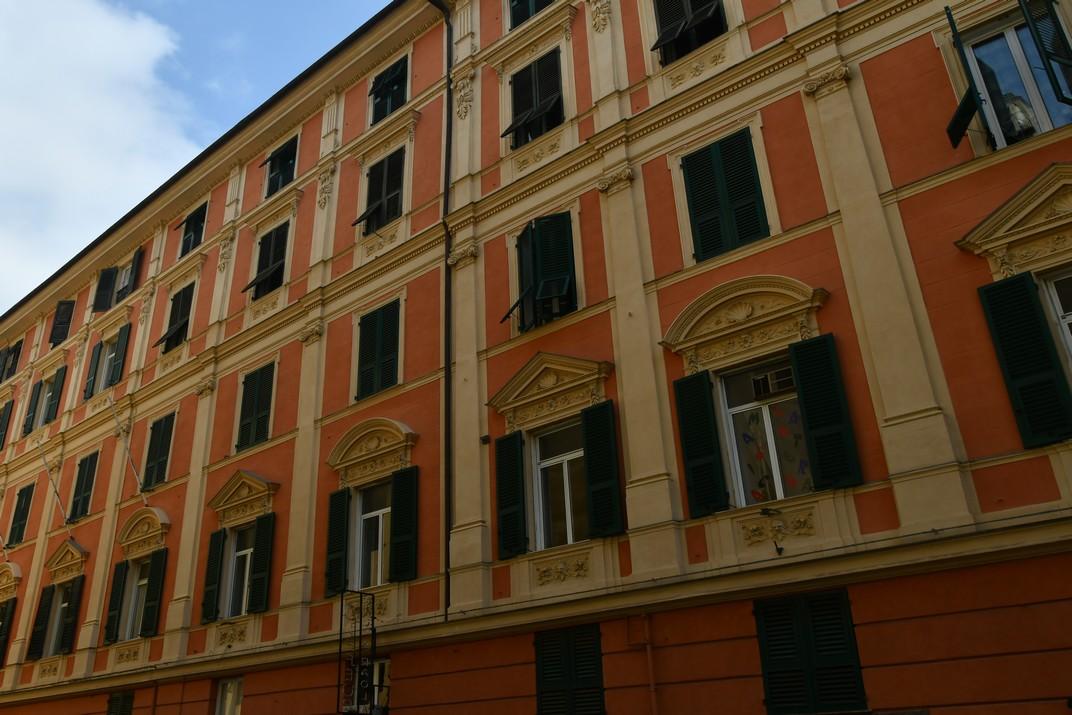 Façana Palau Luca Grimaldi - Blanc de Gènova