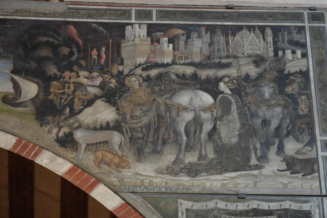 Fresc de la capella Pellegrini de la Basílica de Santa Anastàsia de Verona