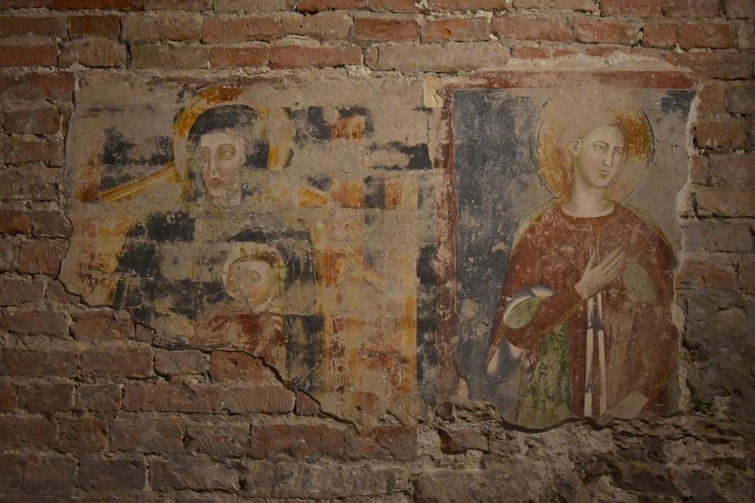 Fresc de la cripta de la Basílica de Sant Zenó de Verona