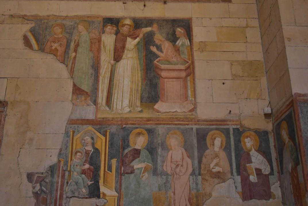 Frescos de la Basílica de Sant Zenó de Verona