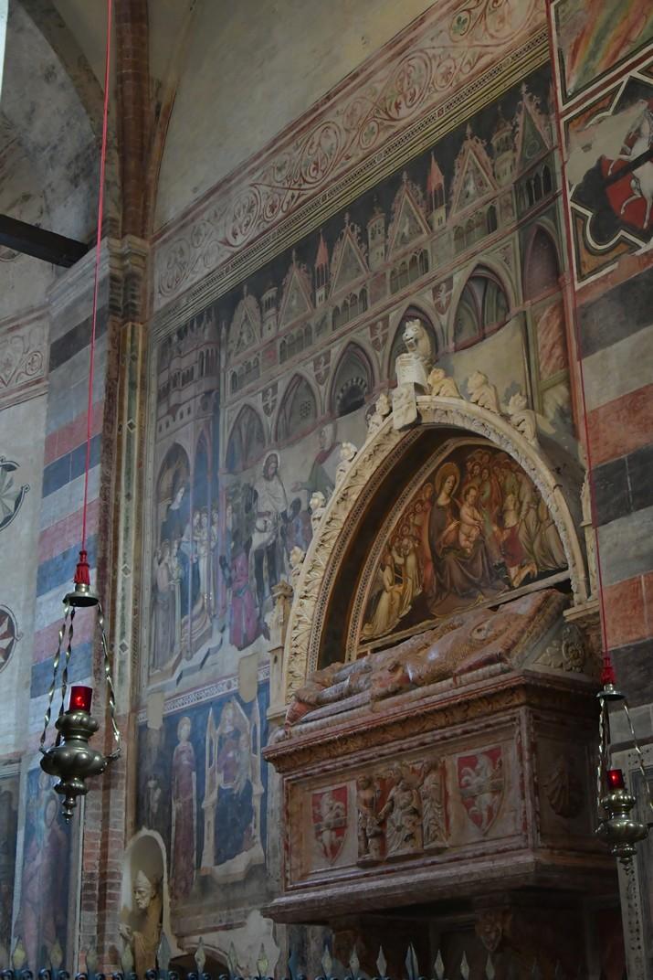 Frescos de la capella Cavalli de la Basílica de Santa Anastàsia de Verona