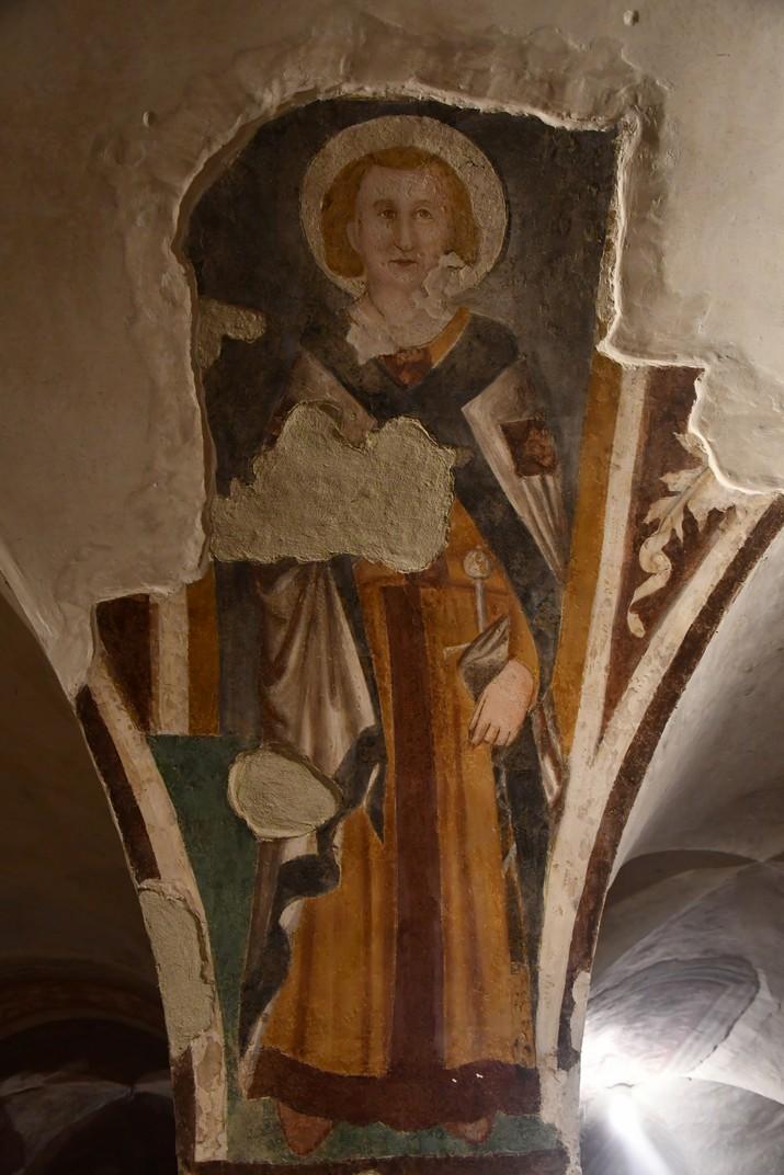 Frescos de la cripta de la Catedral de San Pere Apòstol de Treviso