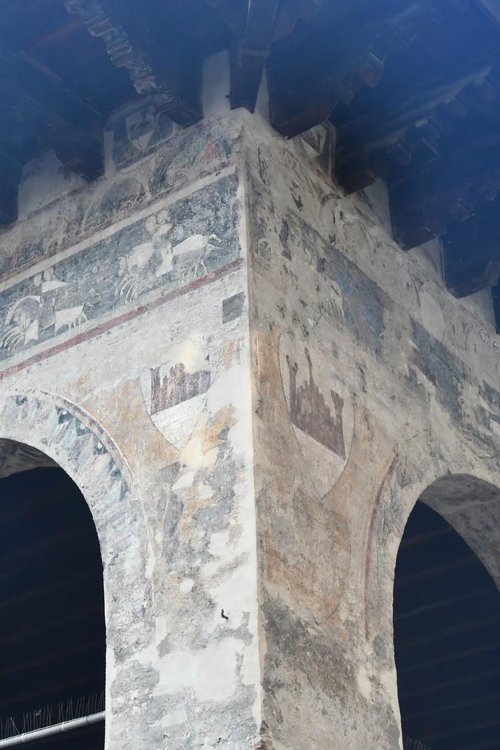 Frescos de la loggia dels Cavallers de Treviso