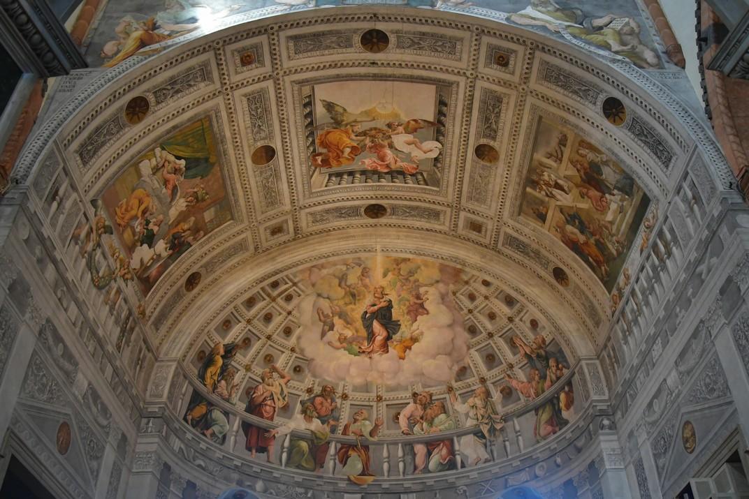 Frescos de l'absis de la capella major de la Catedral de Santa Maria Assumpta de Verona
