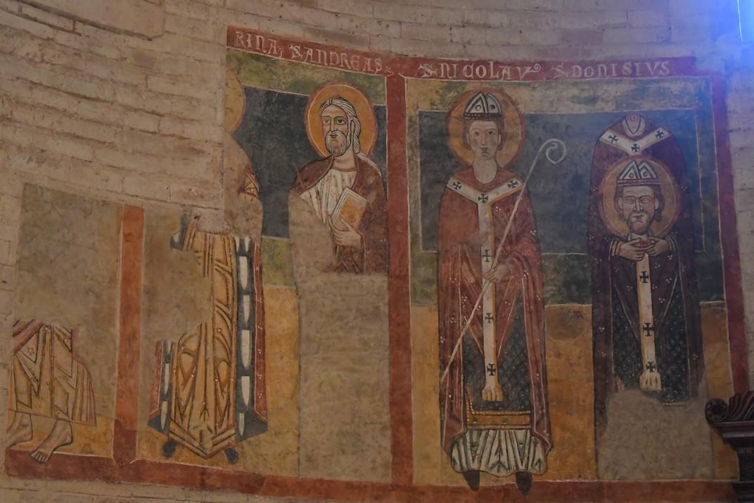 Frescos de l'església de Sant Joan de la Font del conjunt catedralici de la Catedral de Verona