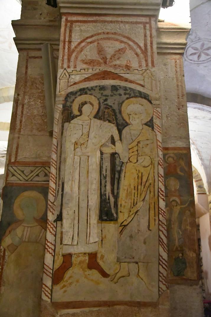 Frescos de l'església inferior de Sant Fermo Major de Verona
