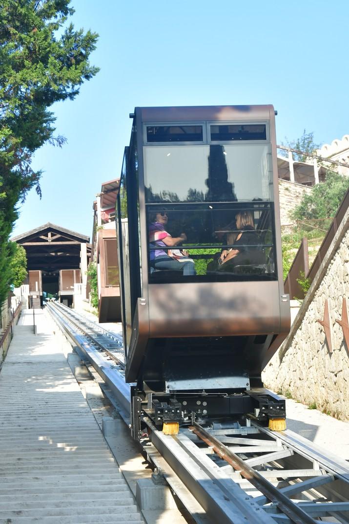 Funicular del Castell de Sant Pere de Verona