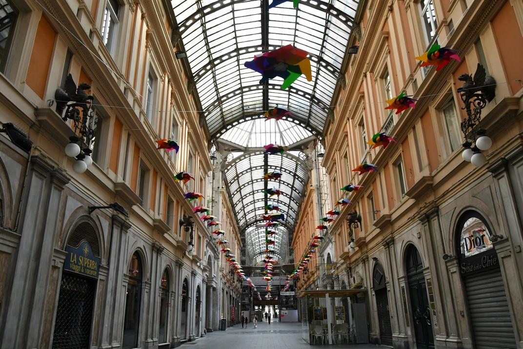 Galeria Mazzini de Gènova