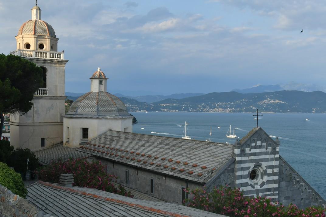 Golf de La Spezia des de l'església de Sant Llorenç de Portovenere - Riomaggiore