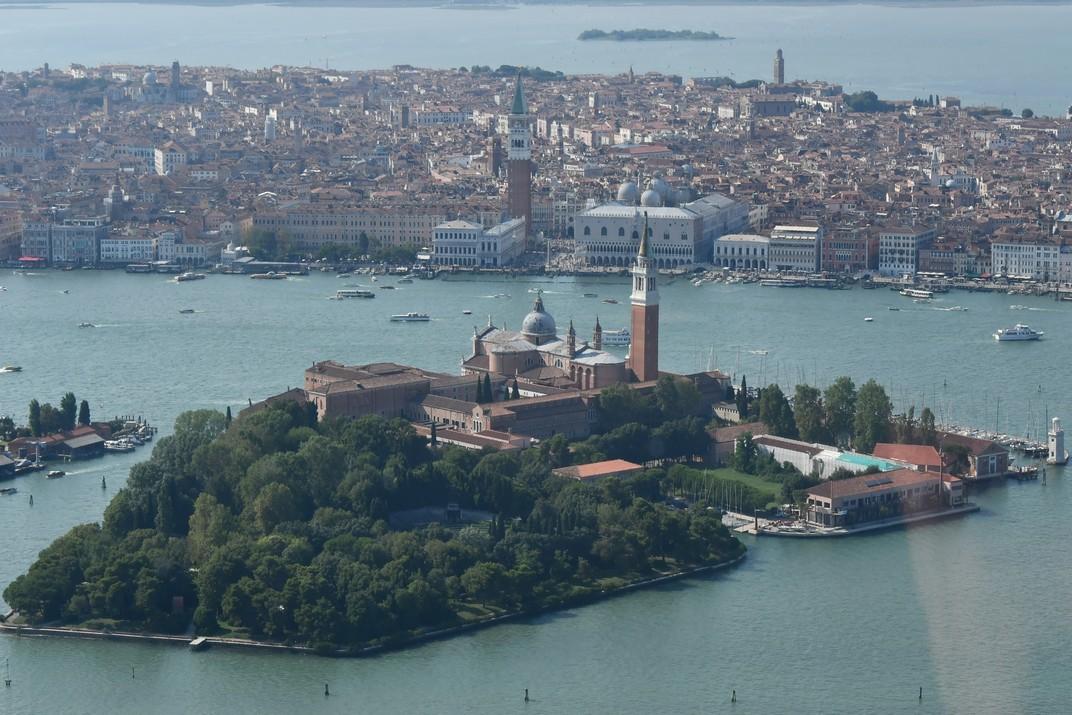 Illa de San Giorgio Maggiore i nucli antic de Venècia