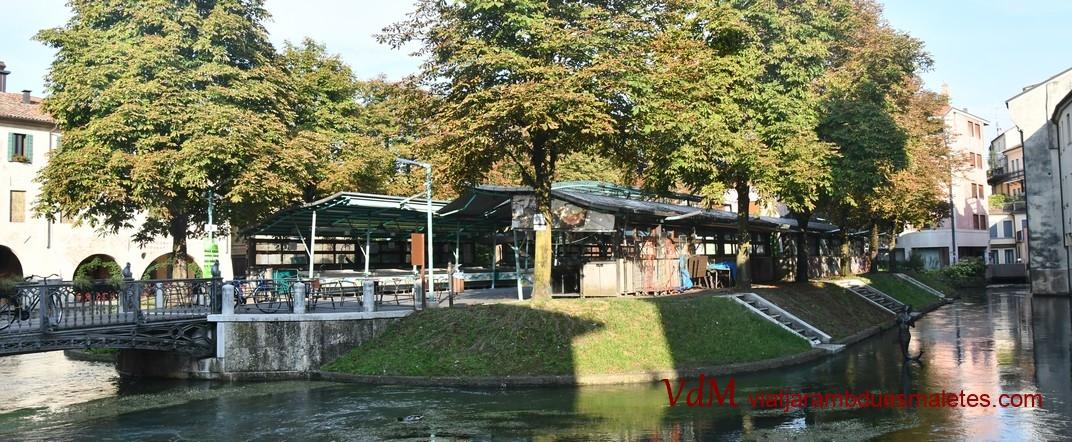 Illa del mercat del peix de Treviso