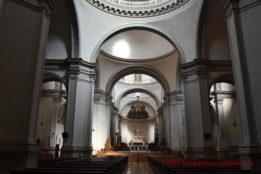 Interior de la Catedral de Sant Pere Apòstol de Treviso