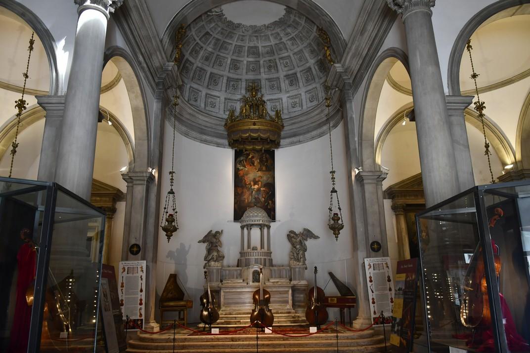 Interior de l'església de Sant Maurici de Venècia