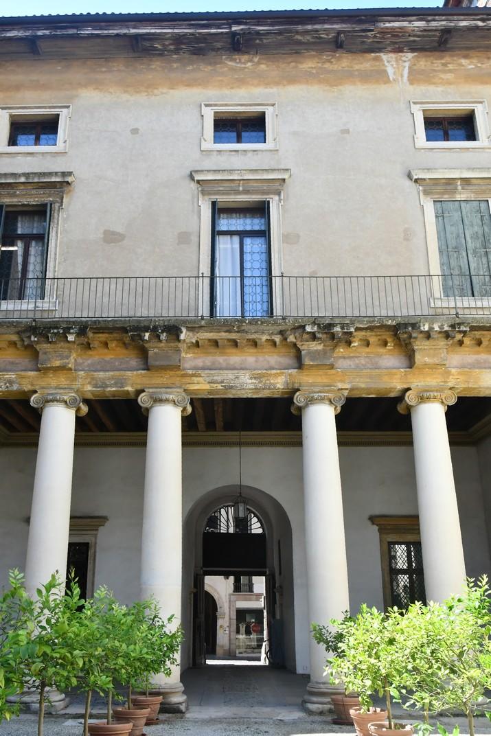Interior del palau Valmarana Braga Rosa de Vicenza