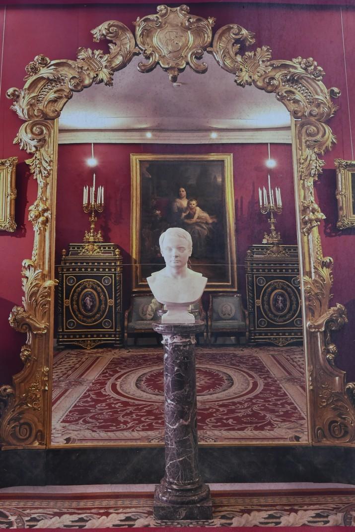 Interior Palau Ridolfo Maria i Gio Francesco Brignole Sale - Vermell de Gènova