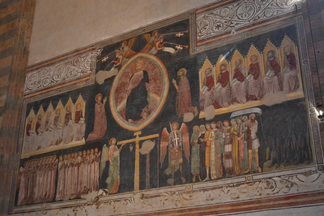 Judici Universal de l'absis central de la Basílica de Santa Anastàsia de Verona