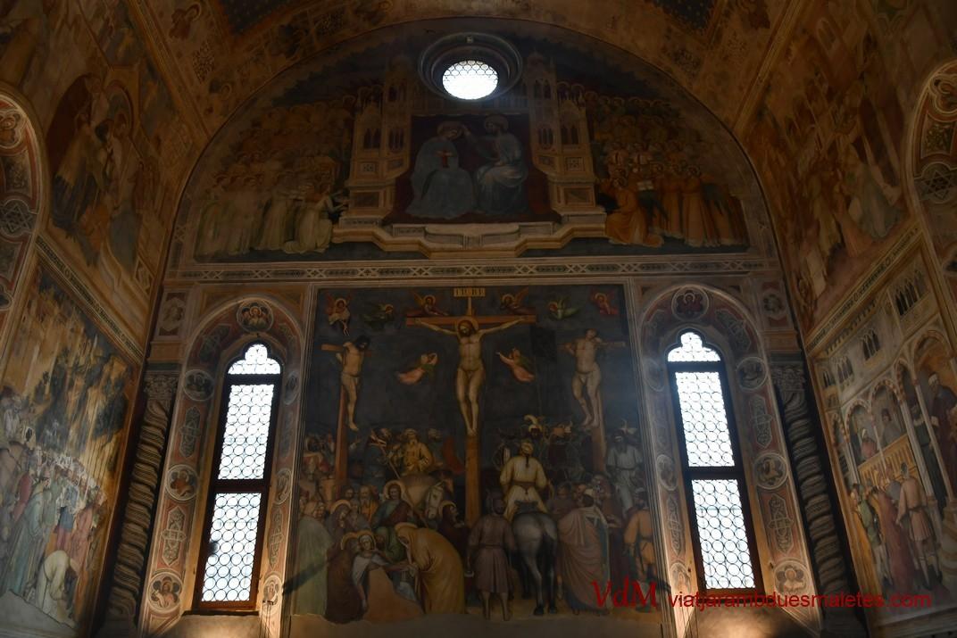 La Crucifixió de l'Oratori de Sant Jordi de Pàdua