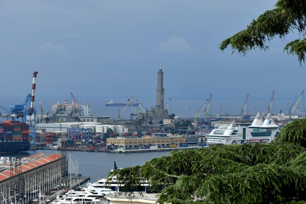La Llanterna del Port Antic de Gènova
