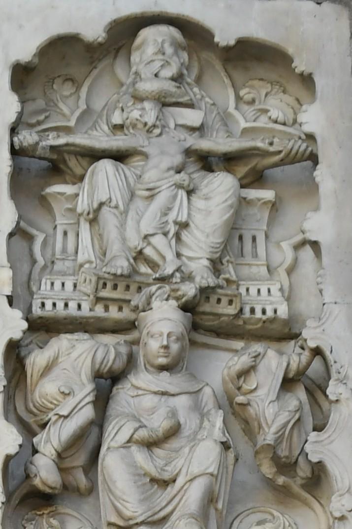 La vida de Jessè del Brancal del pòrtic central de la Catedral de Sant Llorenç de Gènova
