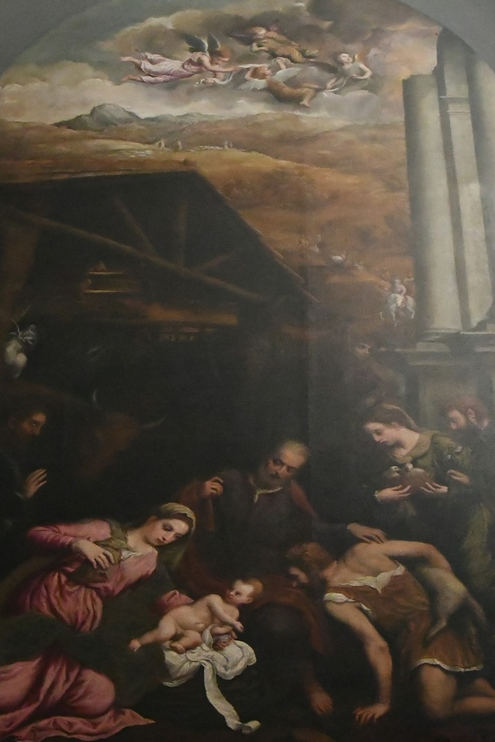 L'Adoració dels pastors de la capella de l'Anunciació de la Catedral de San Pere Apòstol de Treviso