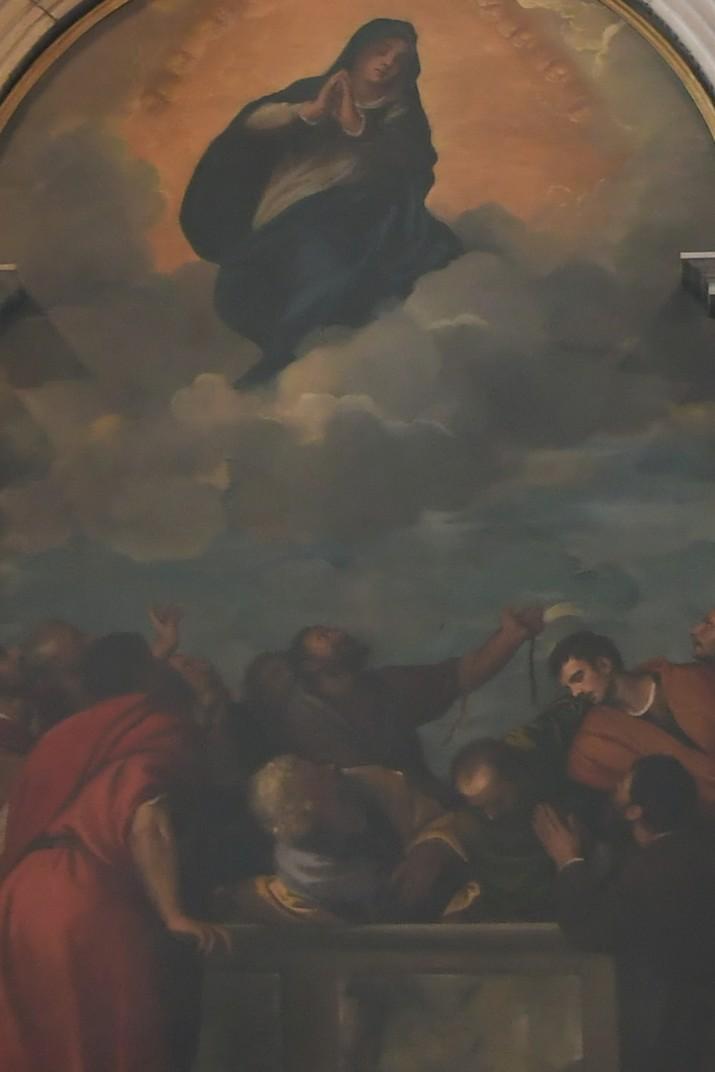 L'Assumpció de la Mare de Déu de la Capella Cartolari-Nichesola de la Catedral de Verona