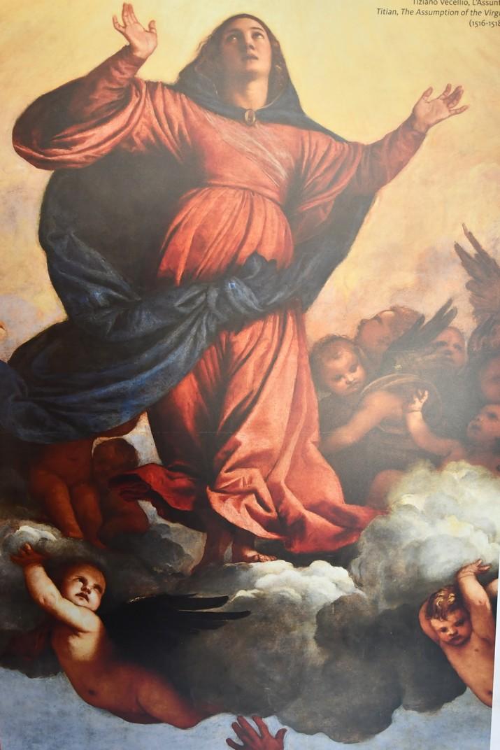 L'Assumpció de Ticià de la basílica Santa Maria Gloriosa dels Frares de Venècia