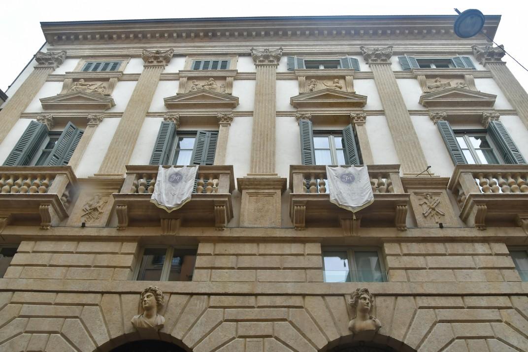 Palau Monga de Corso Porta Borsari de Verona