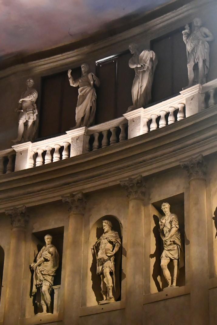 Loggia de l'auditori del Teatre Olímpic de Vicenza