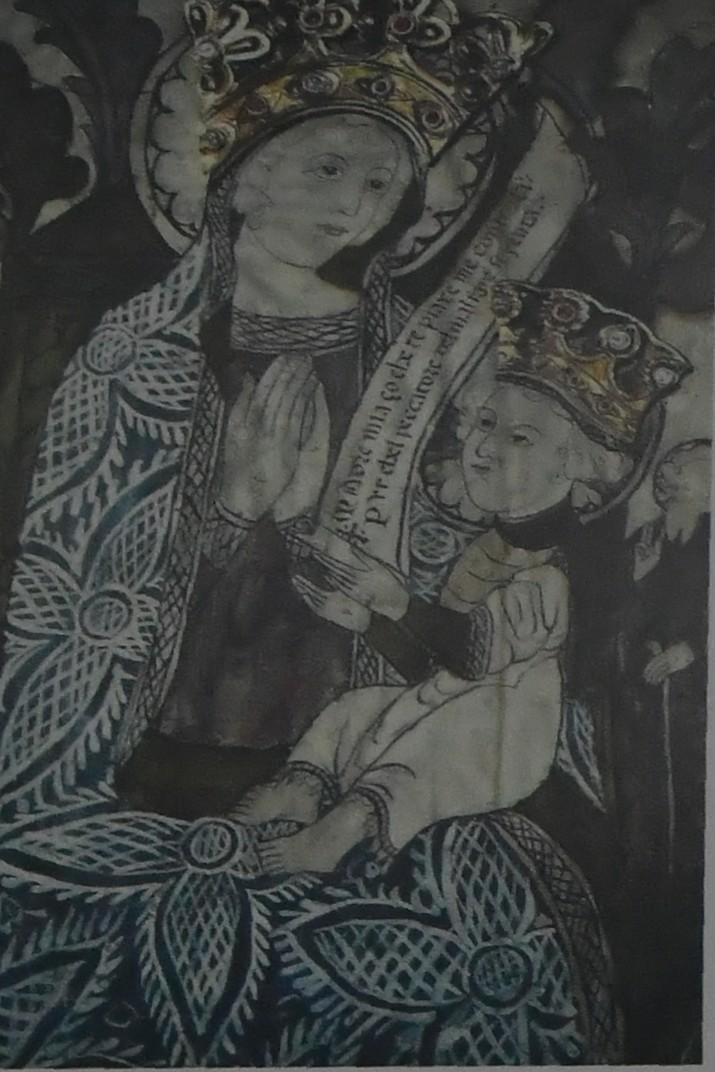Mare de Déu Blanca de l'església de Sant Llorenç de Portovenere - Riomaggiore