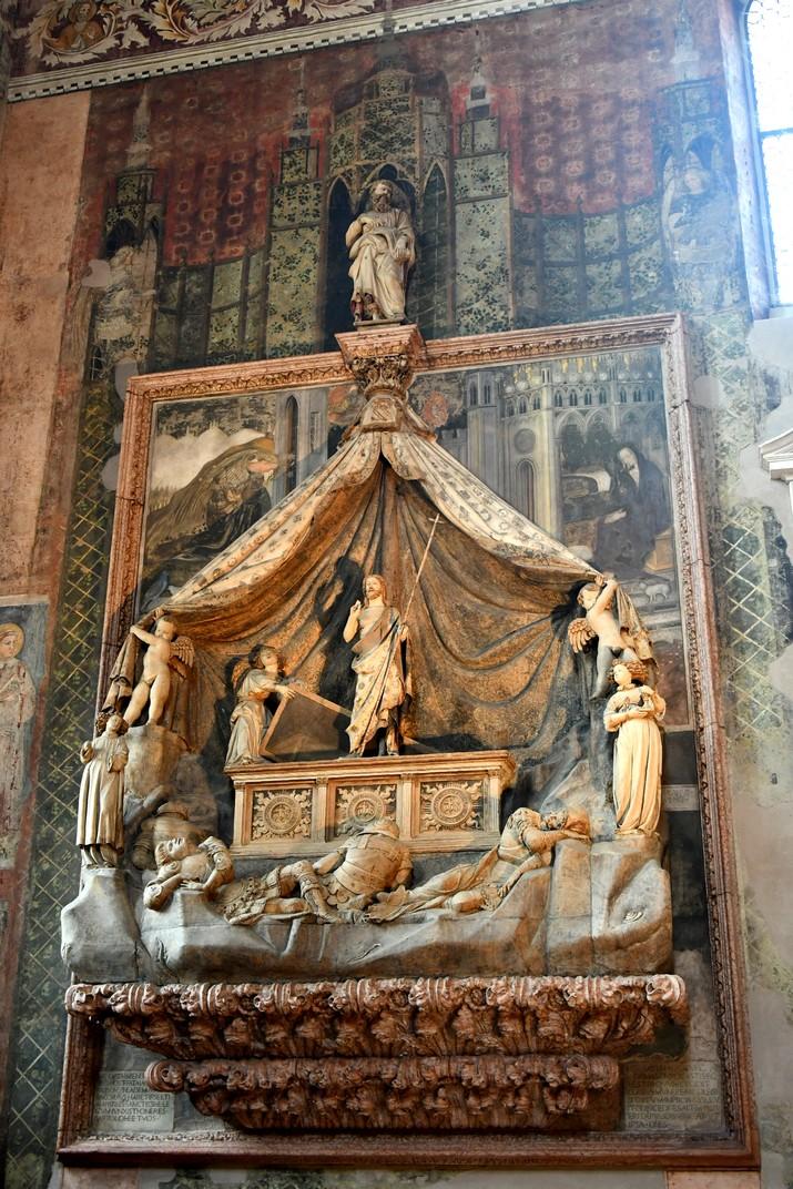 Mausoleu Brenzoni de l'església superior de Sant Fermo Major de Verona