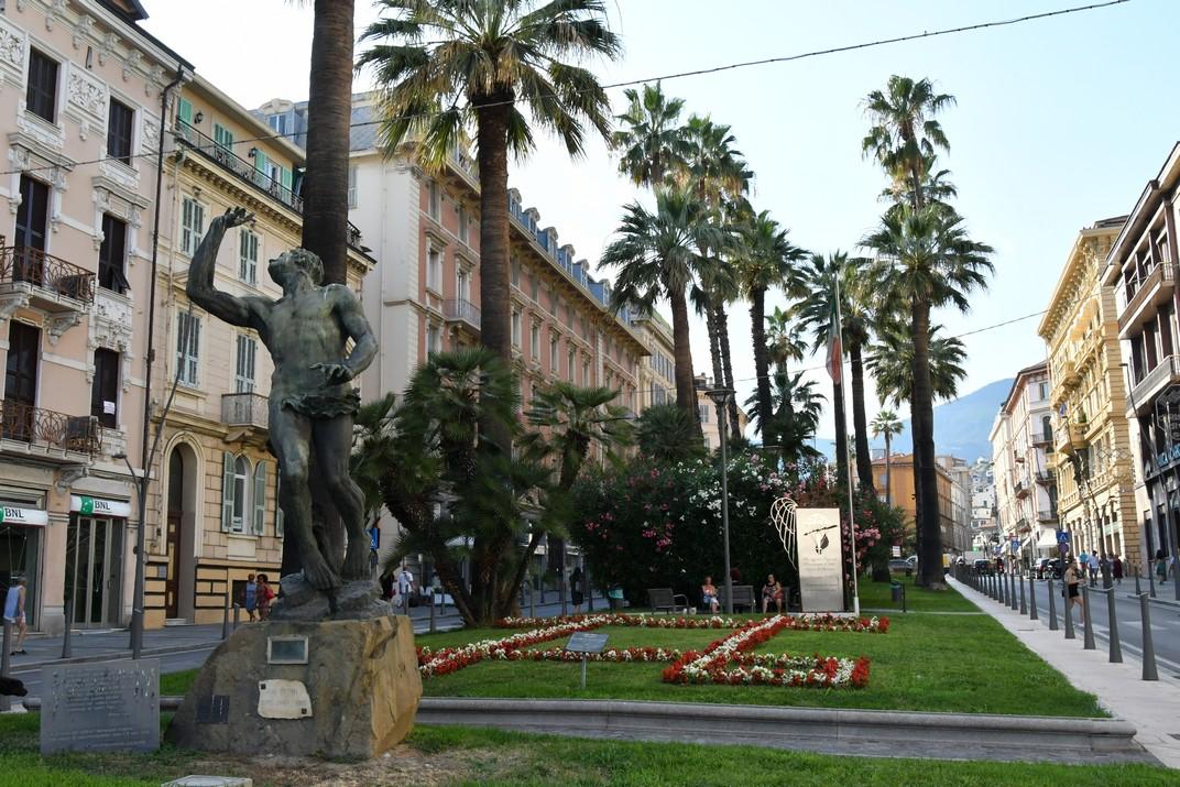 Memorial Cefalònia del Corso Augusto Mombello de Sanremo