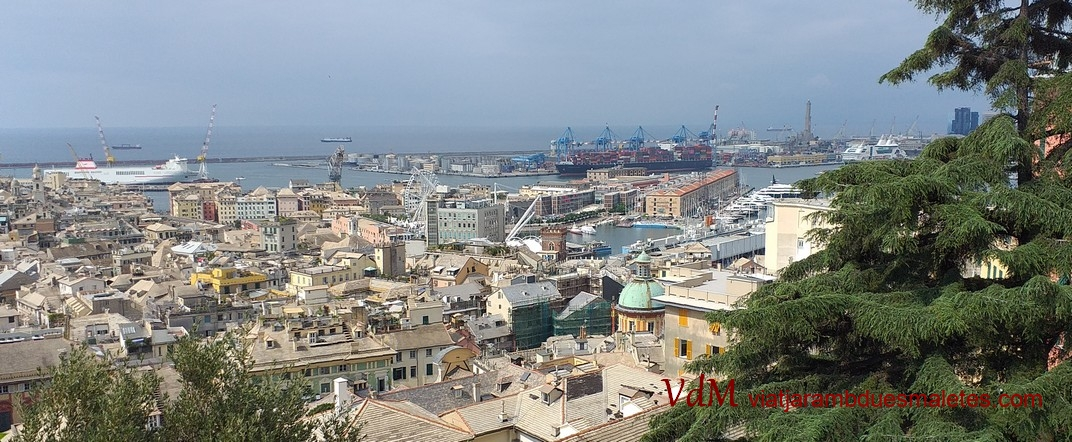 Mirador de l'Esplanada del Castelleto de Gènova