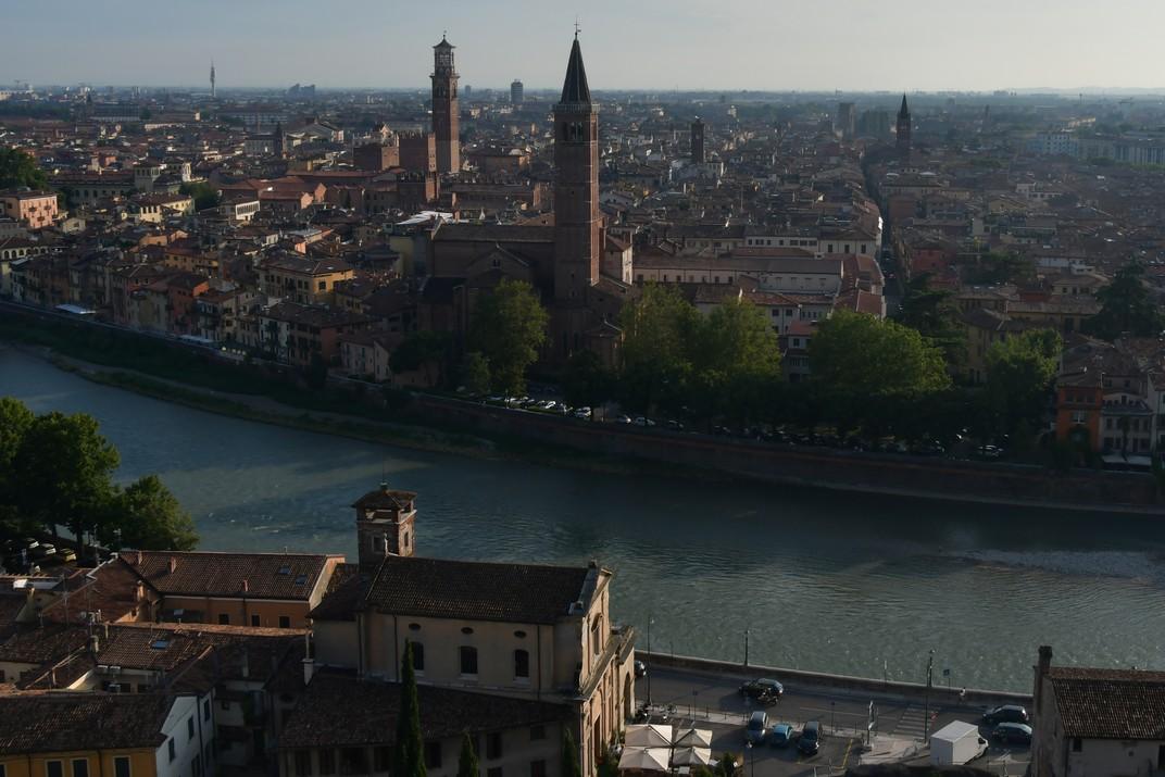 Mirador del Castell de Sant Pere de Verona