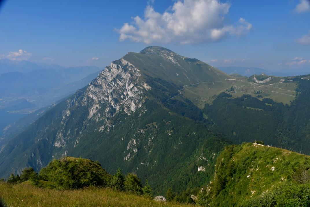 Mirador del Trentino del Mont Baldo de Garda