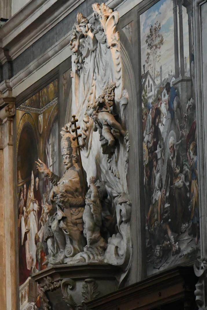 Monument del papa Alexandre VIII de la Catedral de San Pere Apòstol de Treviso