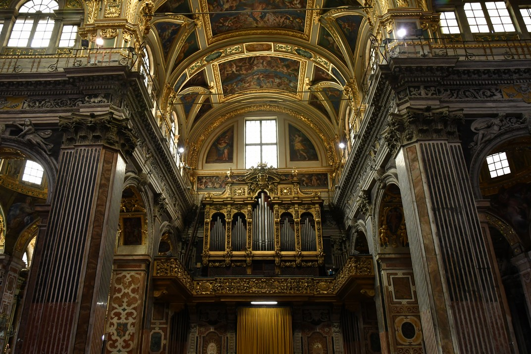 Orgue de l'església de Jesús de Gènova