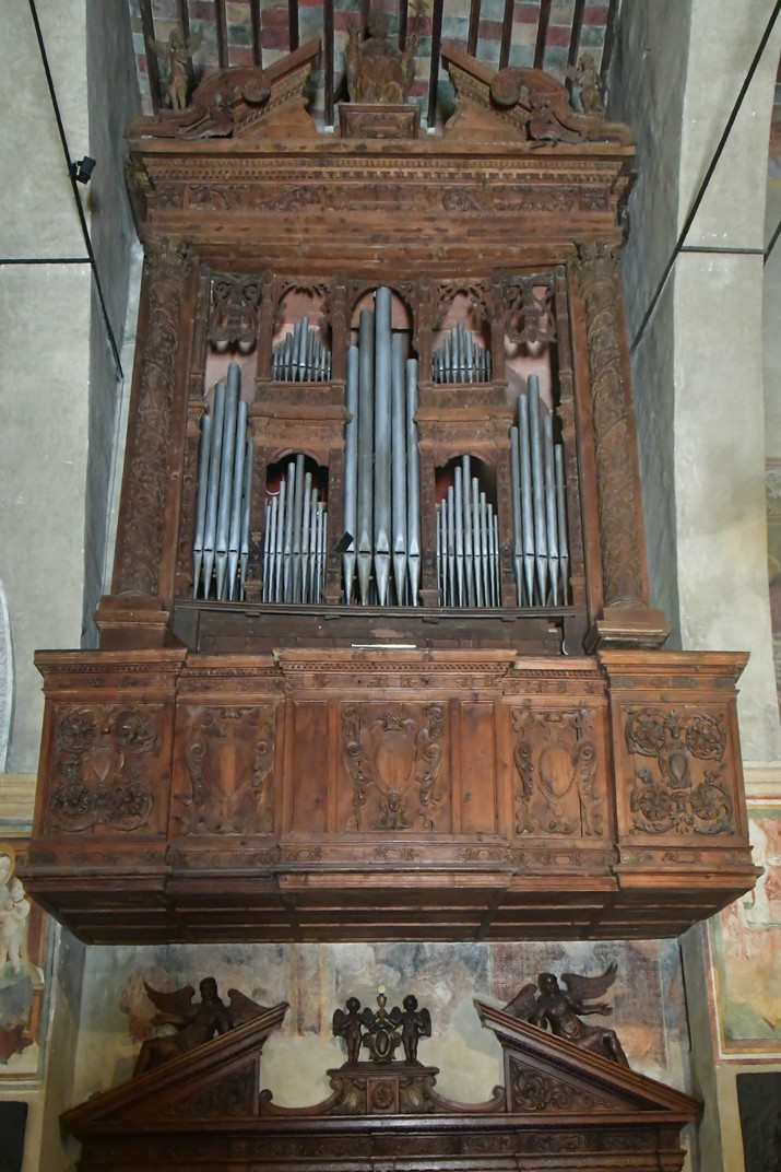 Orgue de l'església de Santa Maria Major de Sirmione de Garda