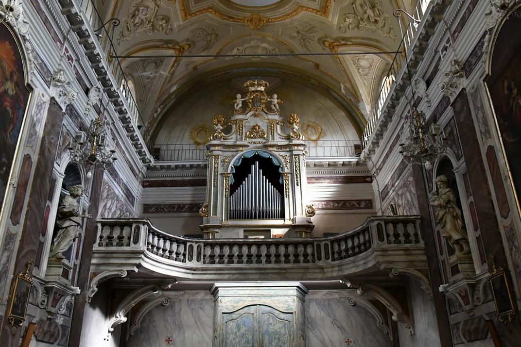 Orgue del Santuari de Nostra Senyora de la Costa de Sanremo
