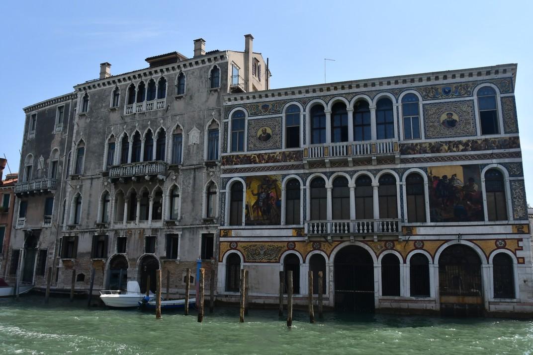 Palau Barbarigo del Gran Canal de Venècia